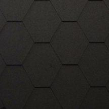 Гибкая черепица Katepal (Катепал) KL Черный