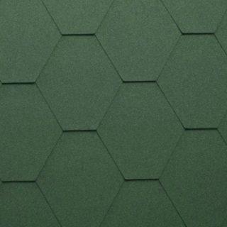 Гибкая черепица Katepal (Катепал) KL Зеленый