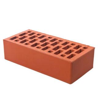 Керамический кирпич BRAER красный гладкий 250x120x65