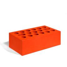 Керамический кирпич Керма красный гладкий 250x120x88