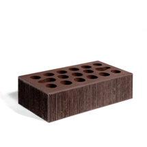 Керамический кирпич Керма шоколад бархат 250x120x65