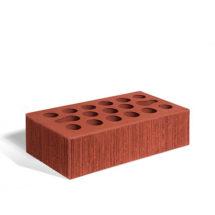 Керамический кирпич Керма бордовый бархат 250x120x65