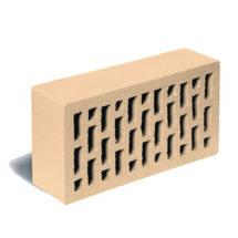 Кирпич лицевой пшеничный гладкий ЛСР (RAUF Fassade) 250x120x65