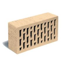 Кирпич лицевой пшеничный тростник ЛСР (RAUF Fassade) 250x120x65