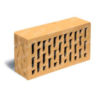 Кирпич лицевой соломенный рустик ЛСР (RAUF Fassade) 250x120x65