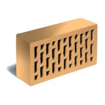 Кирпич лицевой соломенный флэшинг гладкий ЛСР (RAUF Fassade) 250x120x65