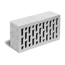 Кирпич лицевой светло-серый тростник ЛСР (RAUF Fassade) 250x120x65