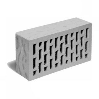 Кирпич лицевой серый рустик ЛСР (RAUF Fassade) 250x120x65