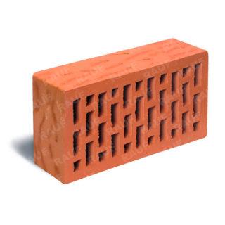 Кирпич лицевой красный рустик ЛСР (RAUF Fassade) 250x120x65